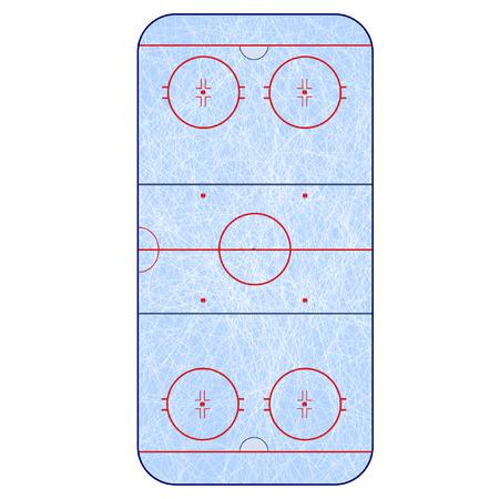 rink: Ice Hockey Rink -  playing field hockey version IIHF