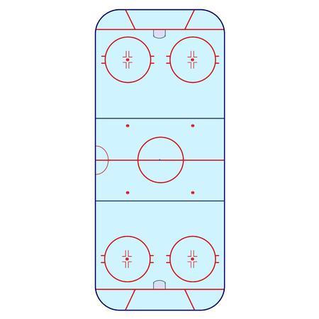 rink: Ice Hockey Rink -  playing field hockey version NHL