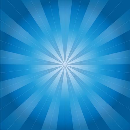 diverging: blue background of diverging rays - vector illustration Illustration