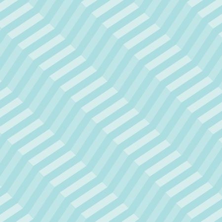 diagonal: retro geometric diagonal zigzag seamless pattern - vector