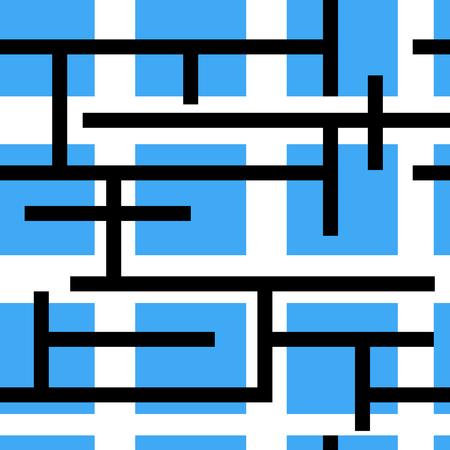 motif géométrique abstrait - seamless