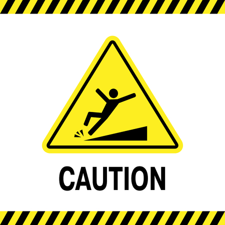 tripping: sign of danger of falling