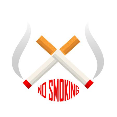 area: No smoking area sign
