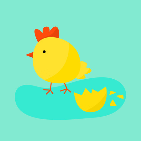 animal family: Cute cartoon chicken vector illustration. Cartoon chicken bird isolated on background. Chicken, bird, farm bird. Vector chicken farm animal. Cute chicken vector illustration. Chicken farm animal