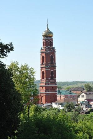russian orthodox: Old Russian Orthodox Church in the town of Bolkhov, Russia