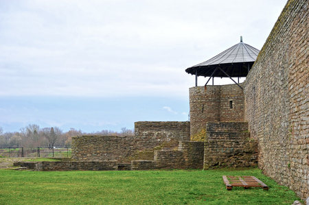 Narva, Estonia-November 3, 2018: the old fortress from Narva Editorial
