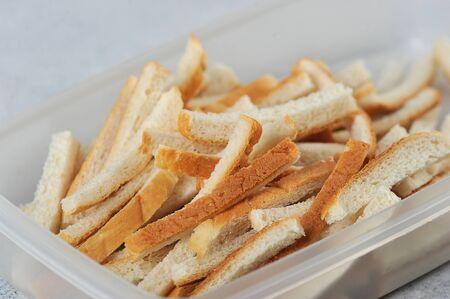 bread sticks, bread cut into small sticks Reklamní fotografie