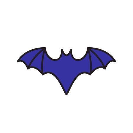 graphic logo of blue bat