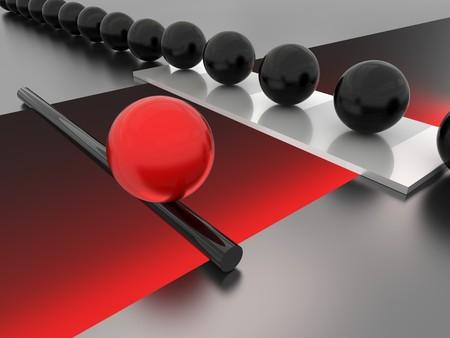kockázatos: Unique concept image. Risky way. High resolution illustration Stock fotó