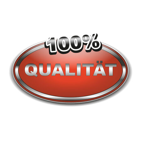 stempel: 100  Qualität Symbol als Aufkleber oder Siegel Illustration