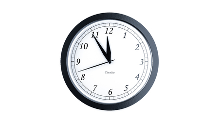 remind: Illustration for time concepts. Isolated on white Stock Photo