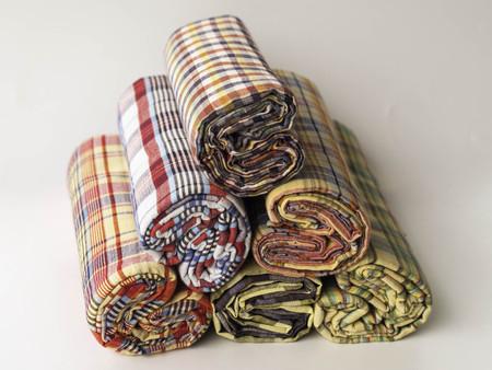 productos de aseo: Art�culos de higiene Tela Foto de archivo