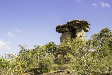 strange mountain: stonehenge of Ubon,Thailand
