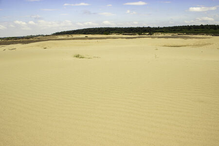 Beach sampanbok Mekong Rive photo