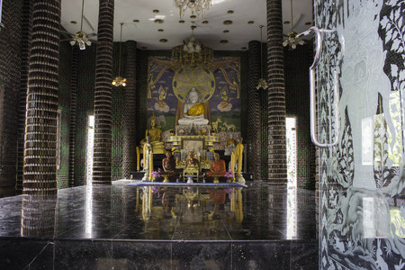 resid: Temple Thailand Made Empty Bottles