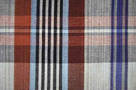 tela algodon: Fondo de patr�n de tejido de algod�n Tailandia. Foto de archivo