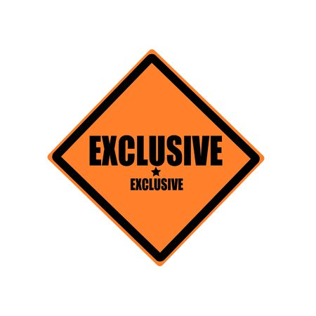 rarity: Exclusive black stamp text on orange background