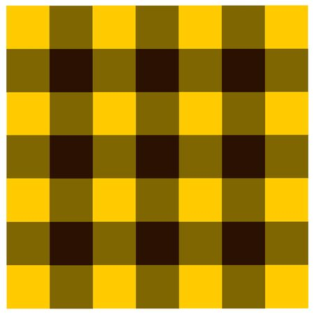 yellow and black: Yellow Black checkered tablecloths pattern