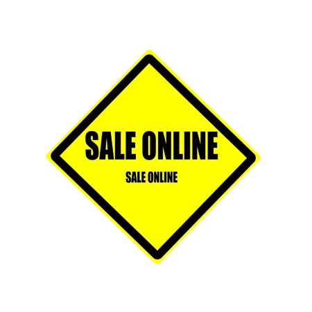 get in shape: Sale online Black stamp text on yellow background