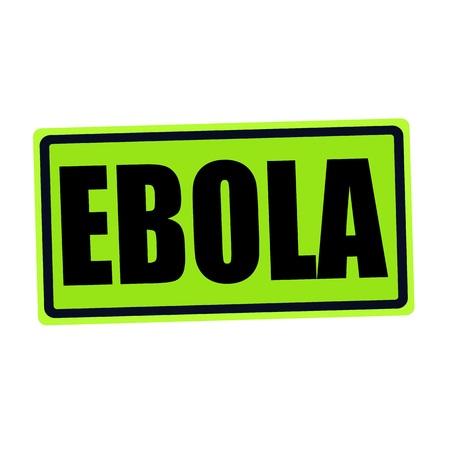swine flu vaccines: EBOLA black stamp text on green