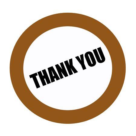 gratefulness: THANK YOU black stamp text on white