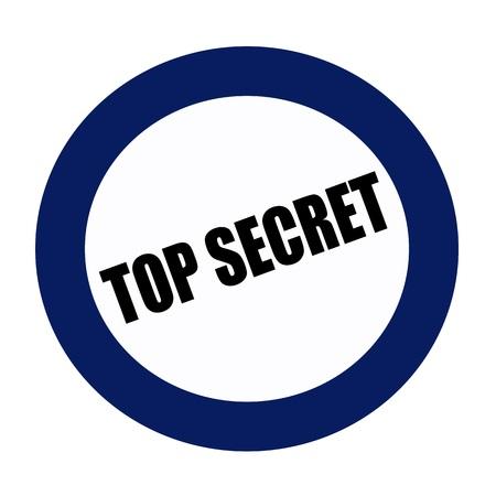 secret: TOP SECRET black stamp text on blueblack