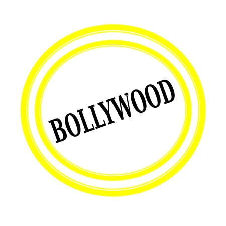bollywood: BOLLYWOOD black stamp text on white backgroud Stock Photo