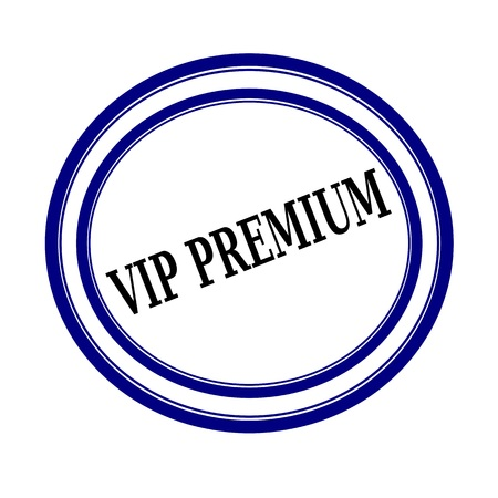vip area: VIP PREMIUM black stamp text on white Stock Photo