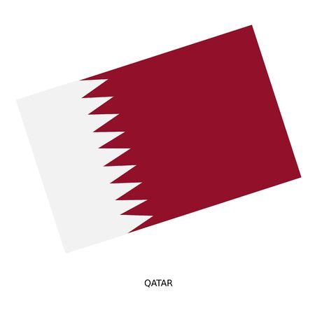 qatar: National flag of Qatar