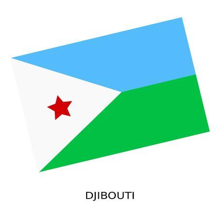 djibouti: National flag of Djibouti