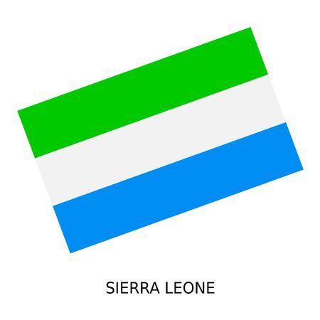 sierra: National flag of Sierra Leone