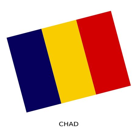 chad flag: National flag of Chad