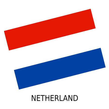 netherland: National flag of Netherland
