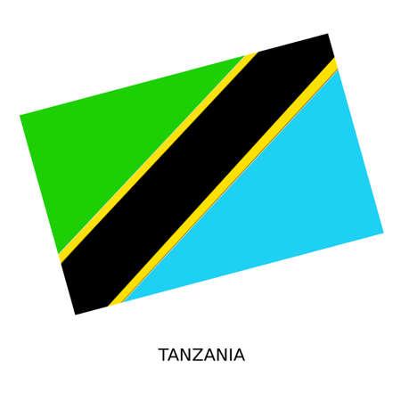 tanzania: National flag of Tanzania