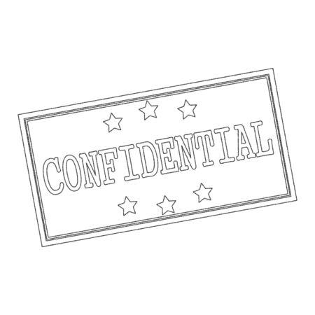 confidential: Confidential Text Written In Pencil