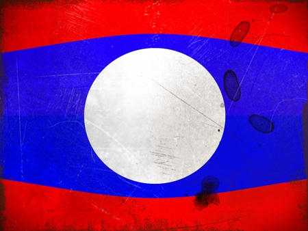 lao: National flag of Lao