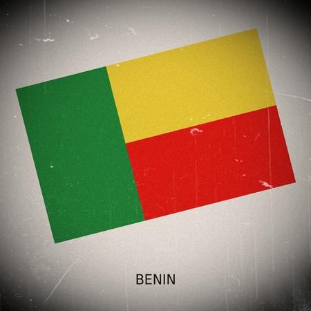 benin: National flag of Benin