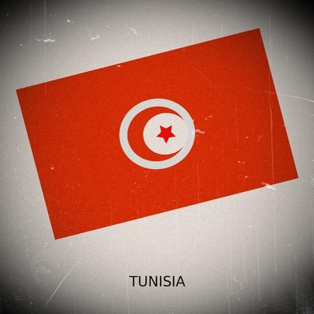 tunisia: National flag of Tunisia