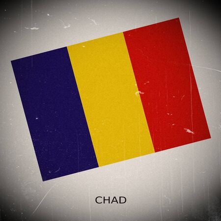 chad: National flag of Chad