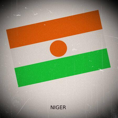 niger: National flag of Niger