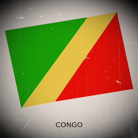 Congo: National flag of Congo