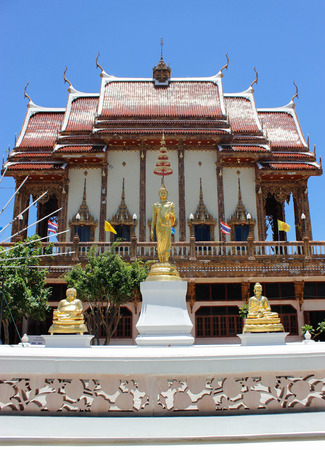 ratchasima: Wat Ban Rai 18 August 2015:Thailand temple art  Nakhon Ratchasima Thailand