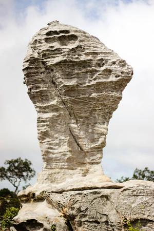 strange mountain: Pa Hin Ngam 18 August 2015:Beauty stone  Chaiyaphum Thailand