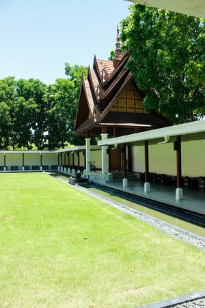 nakhon: Wat Ban Rai 18 August 2015:Thailand temple art  Nakhon Ratchasima Thailand