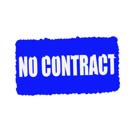 mucky: no contract white stamp text on blood drops blue Background