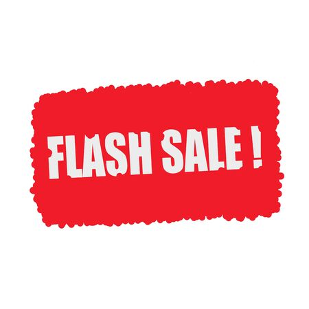 mucky: Flash sale white stamp text on blood drops red Background Stock Photo
