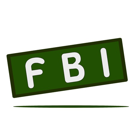 the fbi: FBI wording on rectangular signs