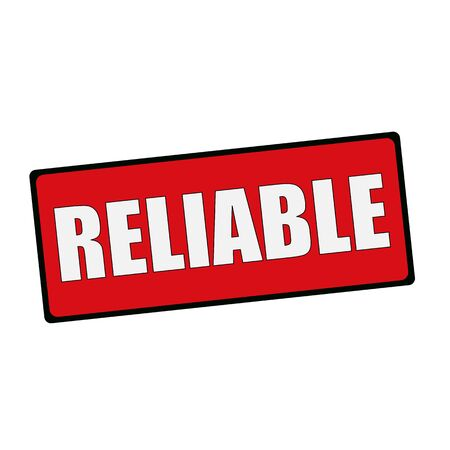 reliable: Reliable wording on rectangular signs