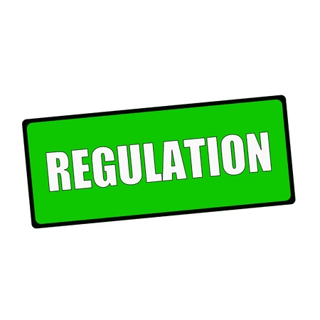 wording: regulation wording on rectangular Green signs