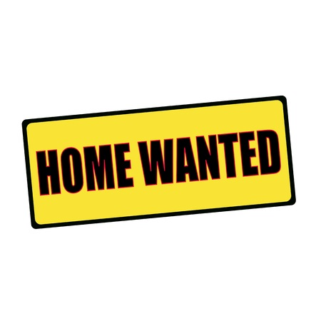 wording: home wanted wording on rectangular signs